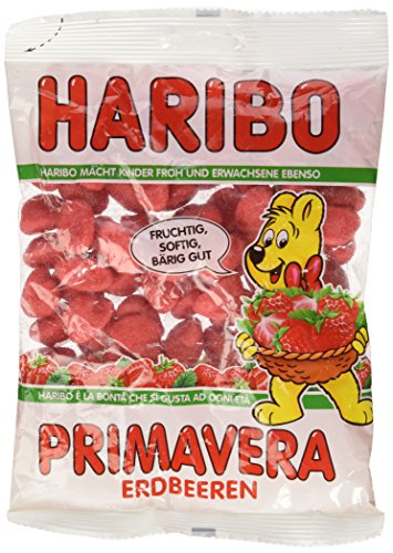 Haribo Primavera-Strawberries Gummi Candy 200 g