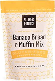 Sponsored Ad - Other Foods Gluten Free Banana Bread and Muffin Baking Mix Paleo Friendly - Easy to Bake, 100% Grain Free, ...