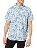 Columbia Men's Rapid Rivers Printed Short Sleeve Shirt, Daydream Oregon Wonders, Large