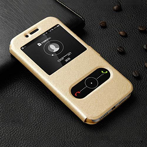RZL Teléfono móvil Fundas Claro Ventana Caso para Lenovo K3 K5 K6 K8 Nota Lujo K5 K6 Plus Poder tirón Patrón de Seda de Cuero Protector de la Cubierta del teléfono Celular