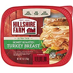 Hillshire Farm Ultra Thin Sliced Lunchmeat, Honey Roasted Turkey Breast, 9 oz.
