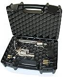 Megaline Pistolenkoffer schwarz 37,5 x 28 x 13 cm -