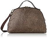 Borbonese Sexy Bag Medium C/t, Borsa a Mano Donna, Marrone (Op Classico/Marrone), 36x24x16 cm (W x H x L)