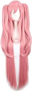 Loli Anime Hair Long Straight Cosplay Pink Wig Hairpiece Headwear Hair Cap Cosplay Wig