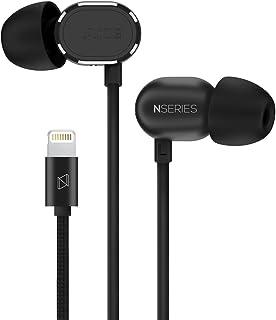 AKG N20LT 入耳式耳机 苹果手机Lightning接口HIFI耳机 耳麦线控 三键耳机 黑色