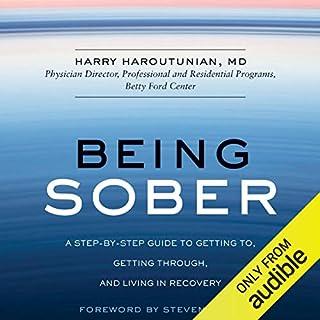Being Sober audiobook cover art