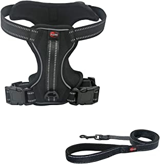 NIMBLE Dog Harness No Pull Dog Vest with Leash Adjustable & Reflective Pet Vest Harnesses and Leash Easy Control for Small Medium Large Dogs