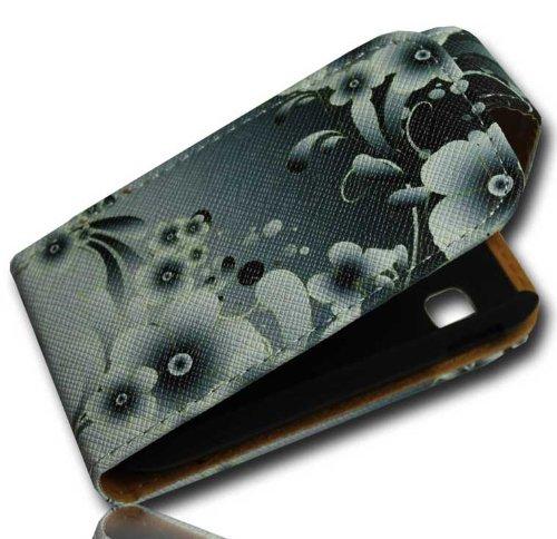 Handy Tasche Case Flip f. Samsung Galaxy Pocket Plus GT-S5301 / Handytasche Schutzhülle JS M26