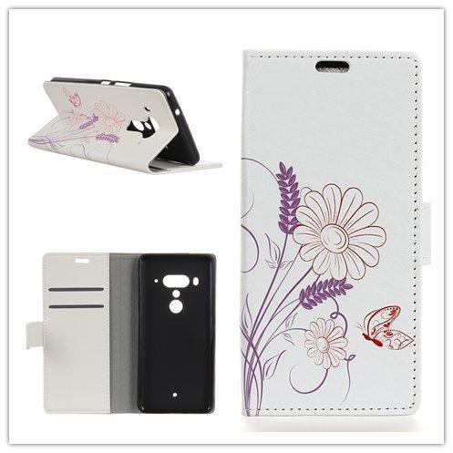Funda® Capirotazo Billetera Funda para HTC U12 Plus (Patrón 3)
