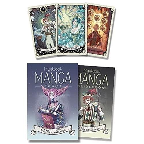 Carte da tarocchi mistici Manga,Mystical Manga Tarot Cards,Style A,TarotDeck