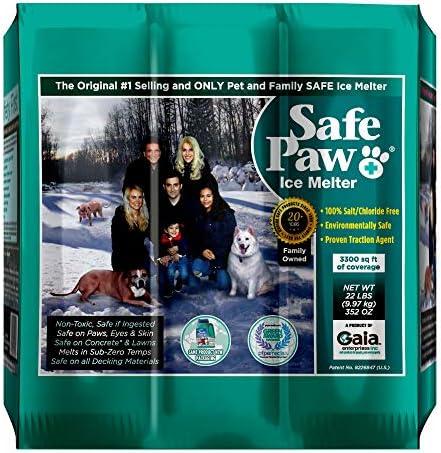 Safe Paw Child Plant Dog Paw Pet Safe Ice Melt 22lb 100 Salt Chloride Free Non Toxic Vet Approved product image