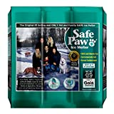 Safe Paw, Child Plant Dog Paw & Pet Safe Ice Melt -22lb, 100% Salt/Chloride Free -Non-Toxic, Vet Approved, No Concrete Damage, Fast Acting Formula, Last 3X Longer