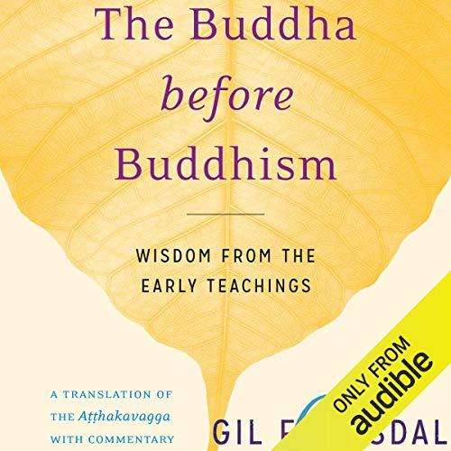 The Buddha Before Buddhism cover art