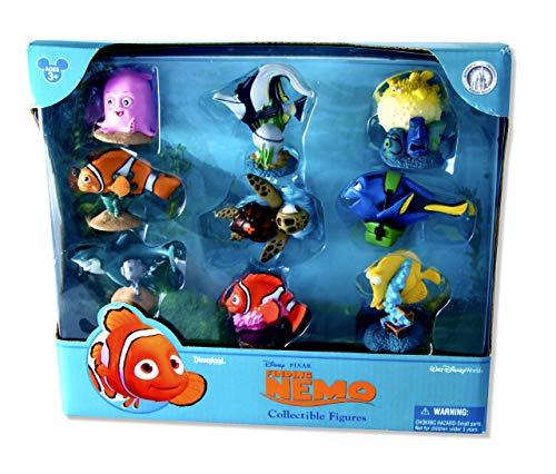 Disney Pixar Buscando a Nemo 3D Coleccionable Figuras. Oficial Disneyland / Disneyworld Tema Parque Mercancía De EE.UU.