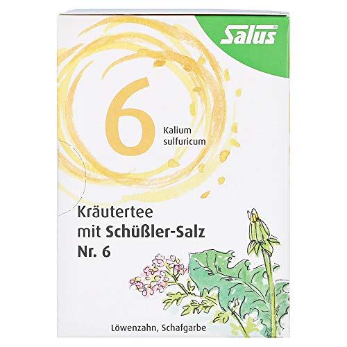KRÄUTERTEE mit Schüssler-Salz Nr.6 Salus Fbtl. 15 Stück