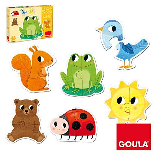 Goula- 6 Puzzles Form (53173)