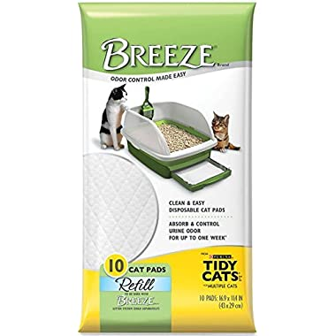 Tidy Cats Breeze Pads - Pack of 10
