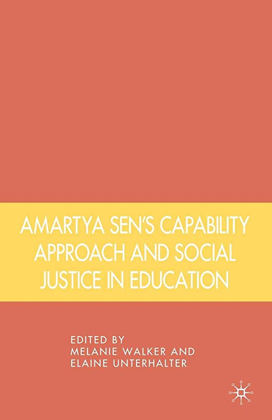 増加するビバ前売Amartya Sen's Capability Approach and Social Justice in Education