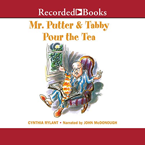 Mr. Putter and Tabby Pour the Tea audiobook cover art