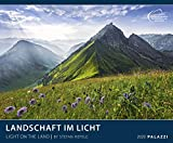 LANDSCHAFT IM LICHT 2020: LIGHT ON THE LAND - Landschaftskalender 60 x 50 cm Kalender - Posterkalender - Wandkalender