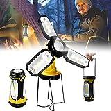 HAITOY LED Campinglampe, Camping Laterne USB Wiederaufladbare, Tragbare Taschenlampe...
