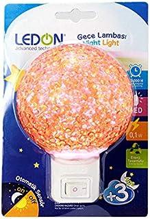 LEDON LD-9009 LEDLİ YUVARLAK TOP GECE LAMBASI