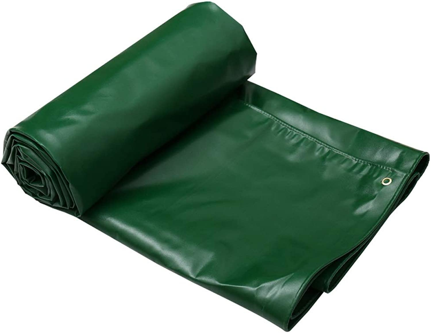 Jia He Tarpaulin Thicken Waterproof Cloth Waterproof Sunscreen Awning Cloth Truck Tarpaulin Tarpaulin Outdoor Canvas DoubleSided Waterproof, Green, 7 Sizes @@ (Size   4mX3m)