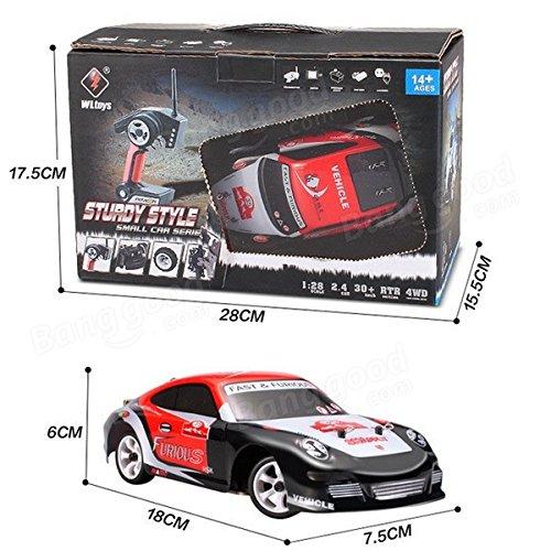 RC Auto kaufen Drift Car Bild 2: Lanlan auto fernsteuerung 2 4G 4WD hochwertige geb rstete RC Auto Drift Auto*