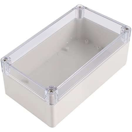 158x90x64mm Plastic Waterproof Cover Electronic Project Box Enclosure Case ////