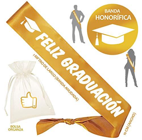 Inedit Festa Graduación Banda de Graduación Banda Honorífica Feliz Graduación