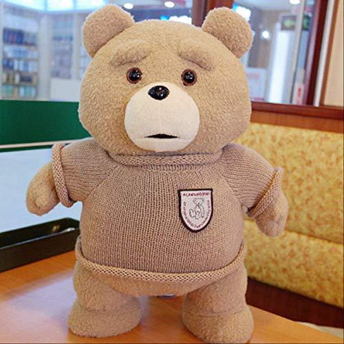 siqiwl Plüschtier 45cm Film Sie Teddy Bär Plüsch Spielzeug in Anzug Junge Ted Weiche Kuscheltiere Puppen Geschenk Präsentieren Gute Qulity Braut in Kleid