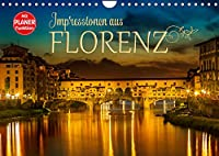 Impressionen aus FLORENZ (Wandkalender 2022 DIN A4 quer): Idylle und historische Bauten (Geburtstagskalender, 14 Seiten )