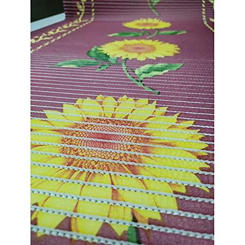 Alfombra antideslizante Aquamat 20 cm PVC 65 cm – Flor