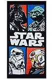 Toallas de 140x70cm de Star Wars, toallas de playa, toallas de baño de algodón 100%, varios temas...