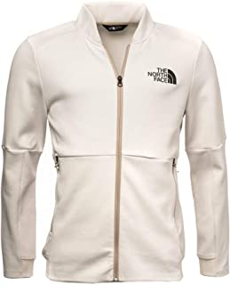 The North Face VISTA TEK FULLZIP FLEECE JACKET for MEN - WHITE M (191928712585)