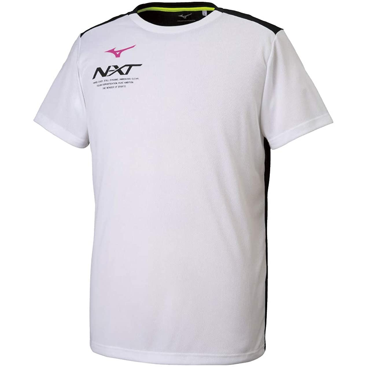 平行有利石膏[ミズノ] トレーニングウェア N-XT Tシャツ 半袖 細身 吸汗速乾 32JA9215