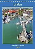 Lindau. Die Glücksfinder-Insel (Tischkalender 2020 DIN A5 hoch)