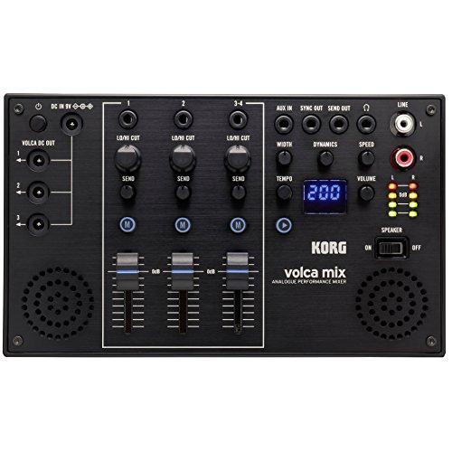 KORG Mixer, volca mix, 4 kanalen, met effecten, voor Volca serie KORG volca mix