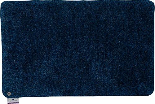 Badezimmerteppich | Badematte | Oekotex | Waschbar | 70 x 120 cm; Farbe: Petrol | Tom Tailor - Soft Bath