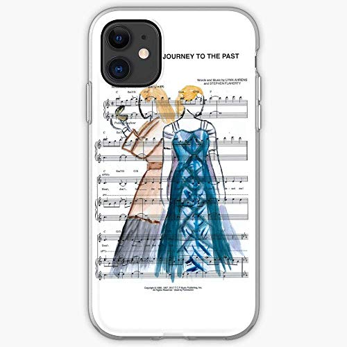 Kivbsho Compatibile con iPhone 11 12 PRO Max XR 6/7/8 SE 2020 Case Anya Theatre Music Past Journey to Anastasia Musicals Musical The in Together Broadway Paris Pure Clear Protezione dei Graffi Cover