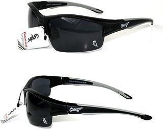 91d622957d8c CA Accessories Chicago White Sox MLB Rimless Blade Frame Black Polarized  Sunglasses UV Protection Lenses