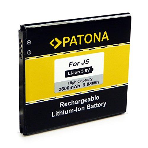 PATONA Bateria EB-BG530 Compatible con Samsung Galaxy Grand Prime VE J5 SM-G530F SM-G531H SM-J500FN
