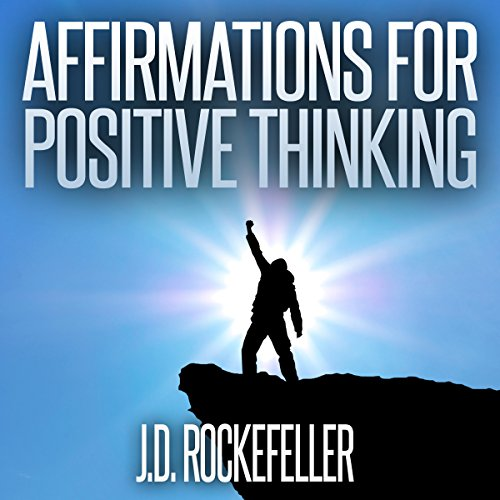 Affirmations for Positive Thinking audiobook cover art
