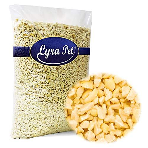 Lyra Pet® 10 kg Erdnusskerne 10000 g weiß blanchiert gehackt Erdnüsse Nüsse Vogelfutter