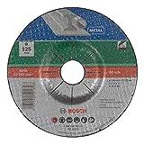Bosch 2609256337 Disco per sgrossatura, per metallo, 125 mm ø x 6 mm