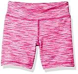 Amazon Essentials Mädchen Stretch Active Short, Pink Spacedye, US M (EU 128 CM)