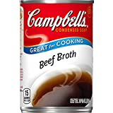 Campbell's Condensed Beef Broth, 10.5 oz. Can (Pack of 12)