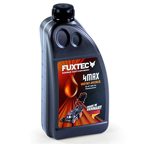 FUXTEC 4 Taktöl 1,4 Liter SAE 30 für Rasenmäher/Stromerzeuger/Schneefräsen - MADE IN GERMANY