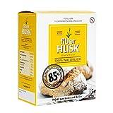FiberHUSK Flohsamenschalen gemahlen Pulver | Das Original | Exklusive QUALITÄT | Glutenfrei | LowCarb | Höchste REINHEIT - mindestens 99%