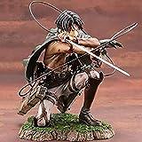 LDD-wd Figurine limitée Manga Attaque sur Titan Levi Ackerman Figurines d'action 7,5 Pouces Anime modèle décoration Artisanat Cadeaux à Collectionner